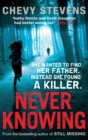 Never Knowing - Book
