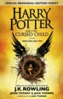 Harry Potter and the Cursed Child - Parts One and Two (Special Rehearsal Edition) : The Official Script Book of the Original West End Production - Book