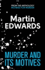 Murder and its Motives - eBook