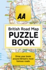 The AA British Road Map Puzzle Book : These highly-addictive brain games will make you a mapping mastermind
