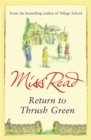 Return to Thrush Green - Book