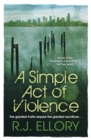 A Simple Act of Violence - Book