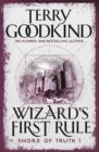 Wizard's First Rule : Book 1: The Sword Of Truth Series - Book