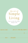 The Art of Simple living - eBook