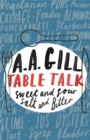 Table Talk : Sweet And Sour, Salt and Bitter - Book