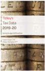 Tolley's Tax Data 2019-20 (Budget edition) - Book