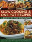 Slow-Cooking & One-Pot Recipes: A Box Set of Two Cookbooks - Book