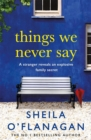 Things We Never Say : Family secrets, love and lies   this gripping bestseller will keep you guessing - eBook