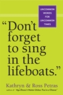 Don't Forget To Sing In The Lifeboats (U.S edition) - Book