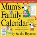2021 Mum's Family Wall Calendar (UK Edition) - Book