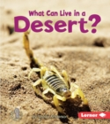 What Can Live in a Desert? - eBook