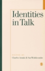 Identities in Talk - Book