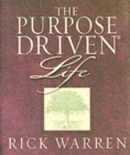 The Purpose Driven Life - Book