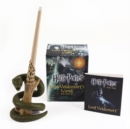 Harry Potter Voldemort's Wand with Sticker Kit : Lights Up! - Book