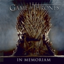 Game of Thrones: In Memoriam - Book