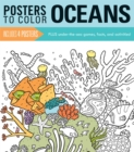 Posters to Color: Oceans - Book