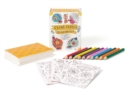 Sugar Skulls Coloring Kit - Book