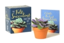 The Felt Succulent Crafting Kit - Book