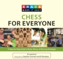 Knack Chess for Everyone : A Step-by-Step Guide to Rules, Moves & Winning Strategies - eBook