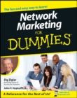 Network Marketing For Dummies - Book
