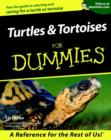 Turtles and Tortoises For Dummies - Book