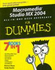 Macromedia Studio MX 2004 All-in-One Desk Reference For Dummies - eBook