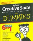Adobe Creative Suite All-in-One Desk Reference For Dummies - eBook