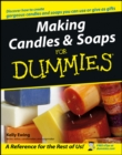 Making Candles and Soaps For Dummies - Book
