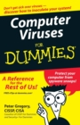 Computer Viruses For Dummies - Book