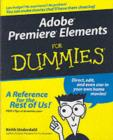 Adobe Premiere Elements For Dummies - eBook