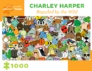 Charley Harper Beguiled by the Wild 1000-Piece Jigsaw - Book