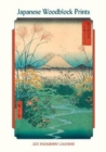 Japanese Woodblock Prints 2021 Engagement Calendar - Book