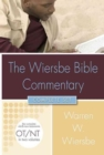 Wiersbe Bible Commentary 2 Vol Set W/CD ROM - Book