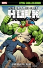 Incredible Hulk Epic Collection: Ghost Of The Past - Book