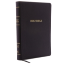 KJV, Reference Bible, Center-Column Giant Print, Bonded Leather, Black, Red Letter Edition, Comfort Print : Holy Bible, King James Version - Book