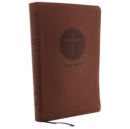 KJV, Reference Bible, Center-Column Giant Print, Leathersoft, Brown, Red Letter Edition, Comfort Print : Holy Bible, King James Version - Book