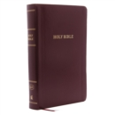 KJV, Reference Bible, Personal Size Giant Print, Leather-Look, Burgundy, Red Letter Edition, Comfort Print : Holy Bible, King James Version - Book