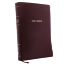 KJV, Reference Bible, Super Giant Print, Leather-Look, Burgundy, Thumb Indexed, Red Letter Edition, Comfort Print : Holy Bible, King James Version - Book
