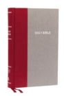 KJV, Thinline Reference Bible, Cloth over Board, Burgundy/Gray, Red Letter Edition, Comfort Print : Holy Bible, King James Version - Book
