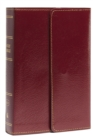KJV, Reference Bible, Compact, Large Print, Snapflap Leather-Look, Burgundy, Red Letter Edition, Comfort Print : Holy Bible, King James Version - Book