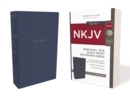 NKJV, Reference Bible, Personal Size Giant Print, Leathersoft, Blue, Red Letter, Comfort Print : Holy Bible, New King James Version - Book