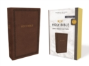 KJV, Holy Bible, Soft Touch Edition, Leathersoft, Brown, Comfort Print : Holy Bible, King James Version - Book