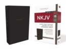 NKJV, Deluxe Reference Bible, Center-Column Giant Print, Leathersoft, Black, Red Letter Edition, Comfort Print : Holy Bible, New King James Version - Book
