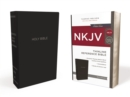 NKJV, Thinline Reference Bible, Leather-Look, Black, Red Letter Edition, Comfort Print : Holy Bible, New King James Version - Book