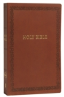 NKJV, Holy Bible, Soft Touch Edition, Leathersoft, Brown, Comfort Print : Holy Bible, New King James Version - Book
