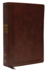 NKJV Study Bible, Leathersoft, Brown, Comfort Print : The Complete Resource for Studying God's Word - Book