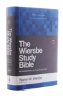 NKJV, Wiersbe Study Bible, Hardcover, Red Letter Edition, Comfort Print : Be Transformed by the Power of God's Word - Book