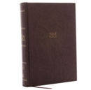 The Kjv, Open Bible, Hardcover, Brown, Red Letter Edition, Comfort Print : Complete Reference System - Book