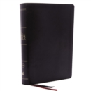 The KJV, Open Bible, Leathersoft, Black, Thumb Indexed, Red Letter, Comfort Print : Complete Reference System - Book