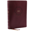 The KJV, Open Bible, Leathersoft, Burgundy, Thumb Indexed, Red Letter Edition, Comfort Print : Complete Reference System - Book